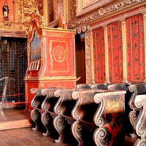 Órgão do coro alto do Museu de Aveiro