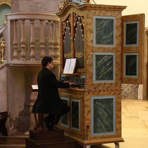 Órgão da Igreja do Carmo, Faro, transepto