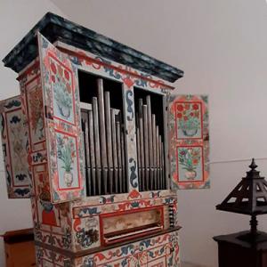 Órgão do Núcleo Museológico da Igreja de São Francisco, Évora, créditos Paulo Bernardino