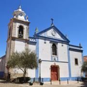 Igreja matriz de Belas, Sintra, tempo com órgão de tubos