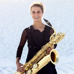 Adriana Oliveira, saxofonista, de Vila Nova de Famalicão