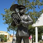 Monumento Comemorativo dos 150 Anos da Banda Filarmónica de Paderne, Albufeira