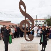 Monumento ao músico em Maiorga