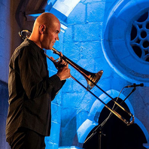 Rúben da Luz, trombone, de Alcobaça