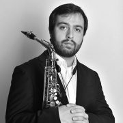 Dinis Carvalho, saxofonista, de Alenquer