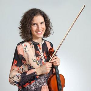 Alexandra Trindade, violinista, de Santa Maria da Feira