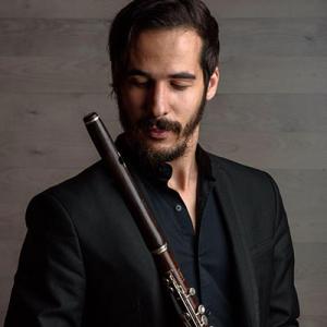 Francisco Barbosa, flauta transversal, de Amares