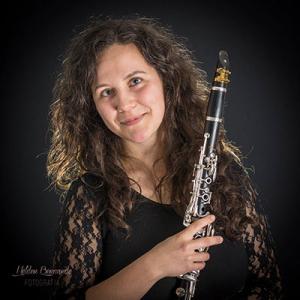 Paula Miranda, clarinete, de Barcelos