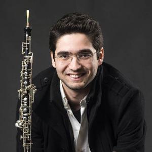 Samuel Bastos, oboé, de Barcelos