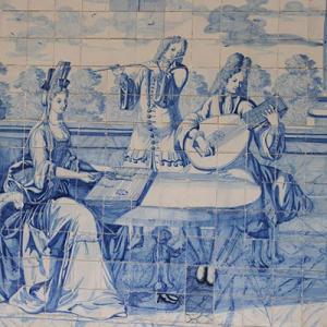 Iconografia Musical em azulejos do Museu Nogueira da Silva, Braga