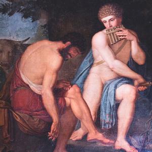 Mercúrio adormecendo Argos