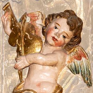 Anjos Músicos no Mosteiro de Tibães, Braga
