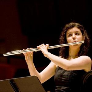 Adriana Ferreira, flautista, de Cabeceiras de Basto