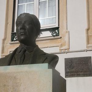Busto de António Fragoso, compositor, Pocariça, Cantanhede