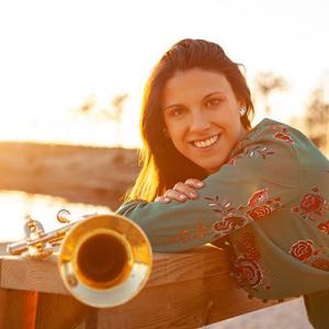 Carla Moreira, trompetista, de Aveiro