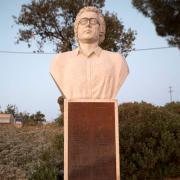 Monumento a José Afonso em Malpica do Tejo