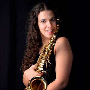 Maria Inês Pires, saxofonista, de Castelo Branco