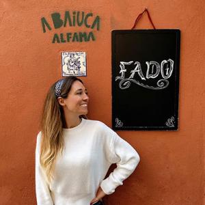 Clara Sevivas, fadista, de Coimbra