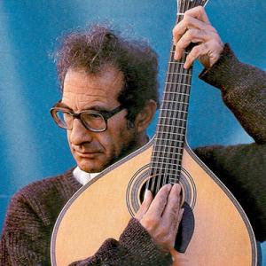 Carlos Paredes, guitarrista natural de Coimbra