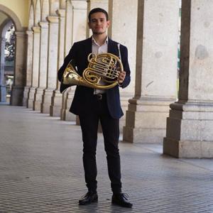 Emanuel Silva, trompista, da Póvoa de Lanhoso