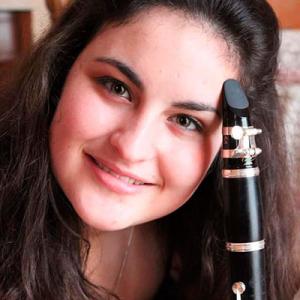 Ana Cláudia Pereira, clarinete, de Espinho