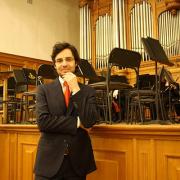 Daniel Ricardo de Pinho, organista, natural de Espinho