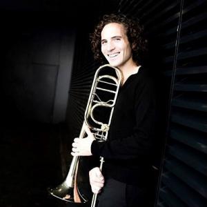 Gabriel Antão, trombone, de Estarreja