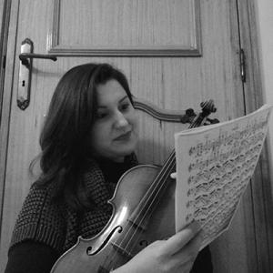 Alexandra Silva, violino, de Vila Nova de Famalicão