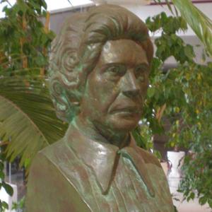Busto de Maria Campina no Conservatório Regional do Algarve