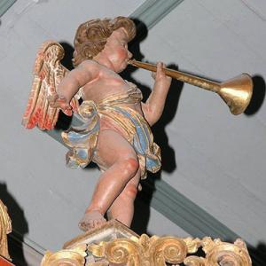 Órgão da Sé de Faro (tribuna)