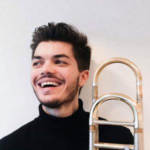 João Martinho, trombone, de Guimarães