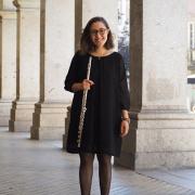 Inês Ferreira, flautista, natural de Vizela