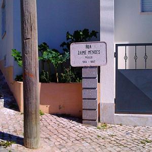 Rua Jaime Mendes, em Lisboa