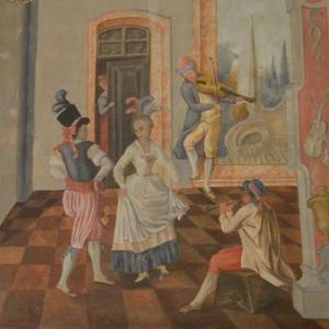 Pintura de José de Sousa Carvalho, créditos Rui Sousa