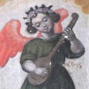 Anjo Músico do Mosteiro das Chagas, Museu de Lamego