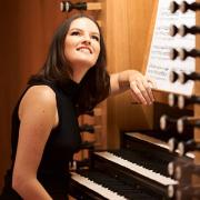 Laura Silva Mendes, organista, do Porto da Cruz, Madeira