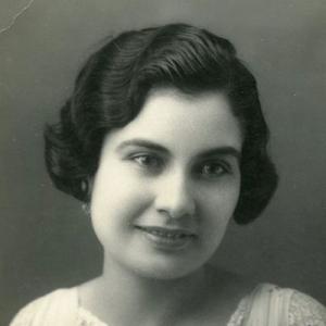 Maria Campina, pianista e pedagoga, de Loulé