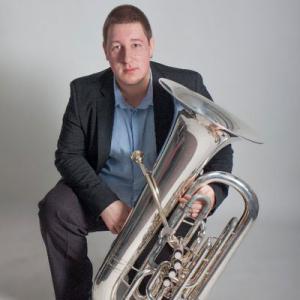 Miguel Canada, tuba, de Machico