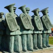 Monumento às Bandas Filarmónicas, Maia