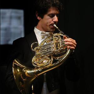 Mickael Faustino, trompa, de Leiria