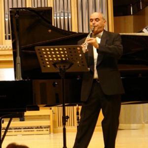 Manuel Carvalho, clarinete, de Ovar