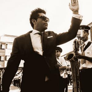 Orlando Rocha, regente de banda, de Paredes