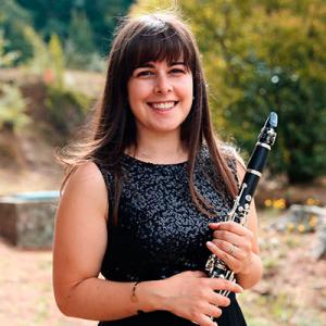 Mariana Cardoso, clarinete, de Seia