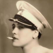 Corina Freire, cantora e atriz, de Silves
