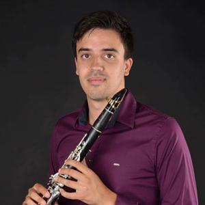 Tiago Bento, clarinetista, de Albergaria-a-Velha