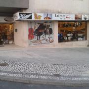 Bino's music, loja de música, Águeda