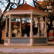 Coreto de Alcochete, Largo Gago Coutinho