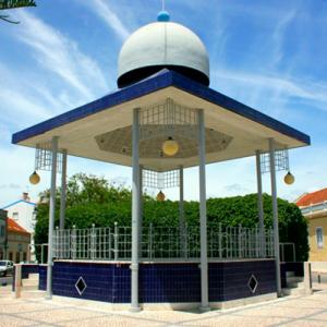 Coreto do Samouco, Praça José Coelho