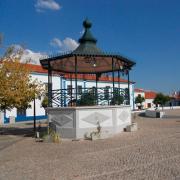 Coreto de Alvito, Praça da República, créditos Fernanda Pina