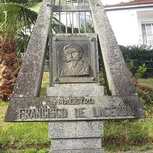 Monumento a Francisco de Lacerda, compositor, na Calheta (São Jorge)